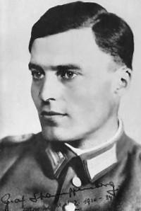 האיש שכמעט הרג את היטלר ב-20 ביולי 1944, קולונל קלאוס פון שטאופנברג