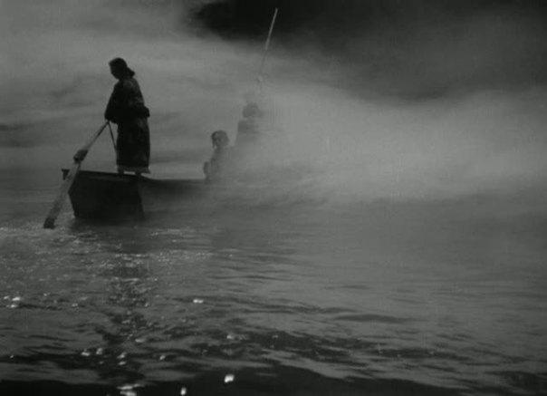 """מתוך הסרט היפני """"סיפורים בגשם וליל ירח"""" (Ugestu Monogatari)', המבוסס על ספרו של אואדה אקינארי"""