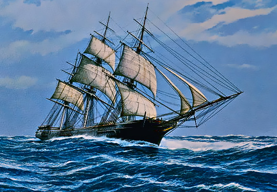 Merchant Sailing Ship