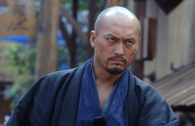 """סייגו טקמורי כ""""קצמוטו"""" בסרט """"הסמוראי האחרון"""""""