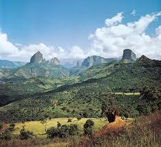הרים באתיופיה