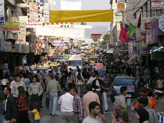 הבוחר הפלסטיני - תמונה של רחוב ברמאללה