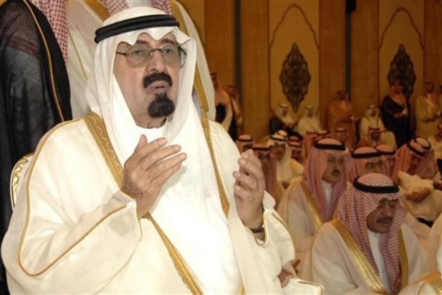 לא ויתר למפגינים כמלוא הנימה. עבדאללה השני בן עבד אל-עזיז אל סעוד, מלך ערב הסעודית