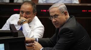 בטח הם לא זכו לקולות פלסטיניים - נתניהו וליברמן