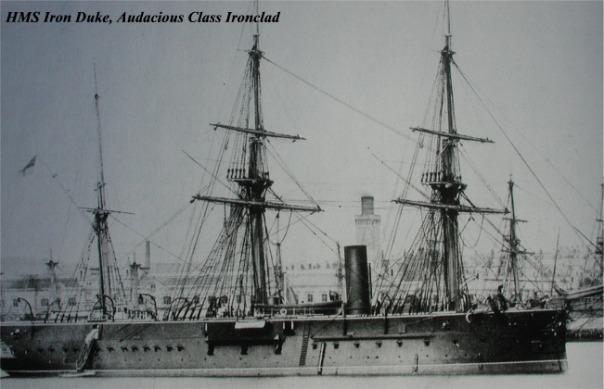תפוח אדמה לוהט- ספינת הוד מלכותה דוכס הברזל