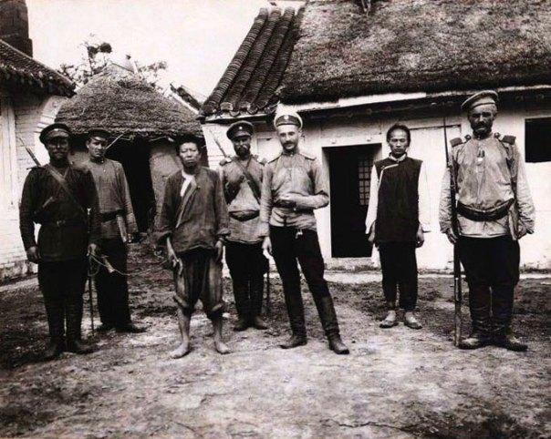 מרגל יפני במנצ'וריה, 1904 -