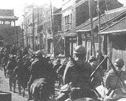 לתת ליפן במתנה - חיילים יפנים במהלך תקרית מנצ'וריה