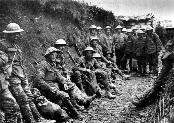 מלחמת התשה - חפירות במלחמת העולם הראשונה