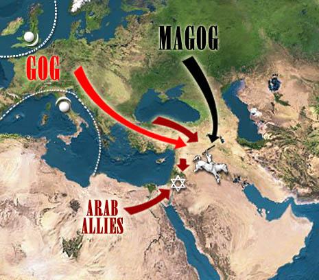 אפוקליפסה עכשיו - ייצוג מודרני של מלחמת גוג ומגוג (ואנחנו כמובן באמצע)