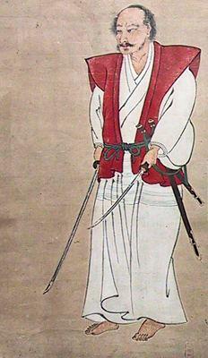 """מיאמוטו מוסאשי, מחבר """"ספר חמש הטבעות"""" ומגדולי אומני הלחימה של ראשית תקופת טוקוגאווה"""