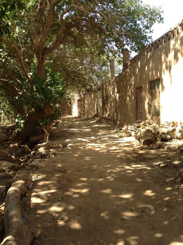 רחוב שקט בכפר מזאר, שבעמק טויוק