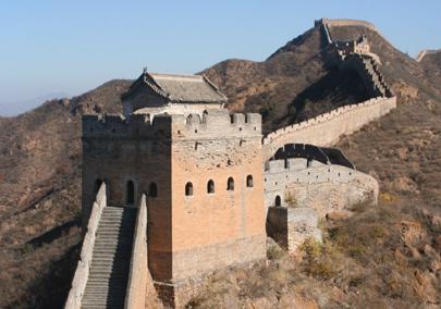 """איחוד """"כל אשר מתחת לשמיים"""" כחלום - גם החומה הגדולה יכולה, במידה מסויימת, להתפרש כגבול שמגדיר את הזהות הסינית."""