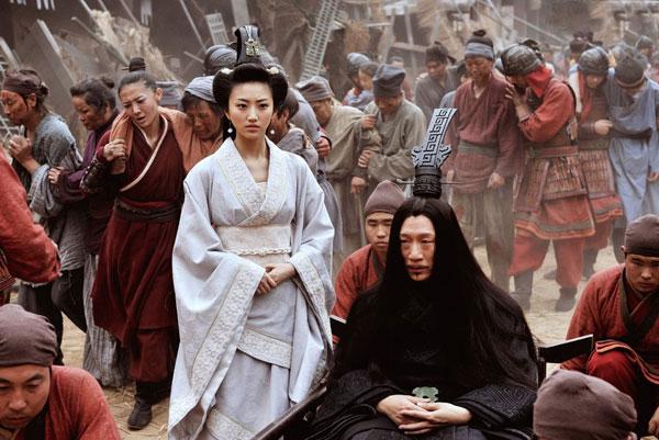 """כל דאלים גבר - תמונה מהסרט הסיני """"המדינות הלוחמות"""""""
