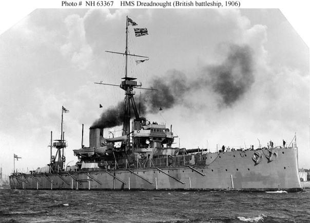 ספינות המלחמה החדשות מדגם דרדנאוט - הצי היפני החליט שהוא חייב להשיג את הצעצועים האלה כדי לשמור על כוחו מול חילות ים אחרים בעולם