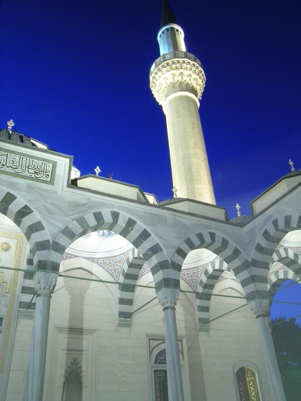המסגד ביויוגי-אואהארה - משמש גם כמרכז תרבות טורקי