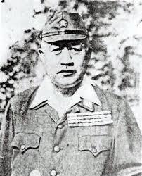 קולונל דויהארה קנג'י: סוכן חשאי וקצין מודיעין. הוצא להורג לאחר משפטי טוקיו כאחד מהגרועים שבפושעי המלחמה היפניים.