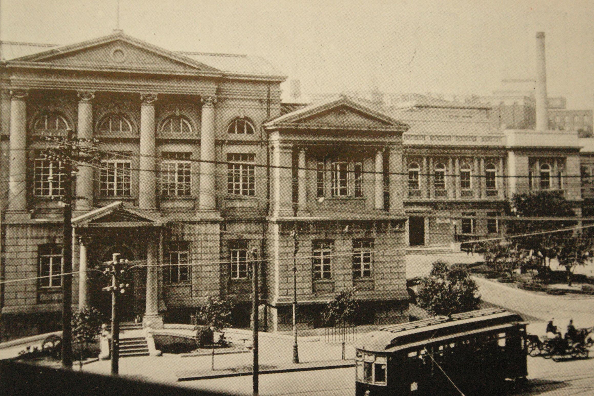 אימפריה כלכלית - מטה חברת הרכבת הדרום מנצ'ורית בעיר דיירן - בירת חבל גוואנדונג
