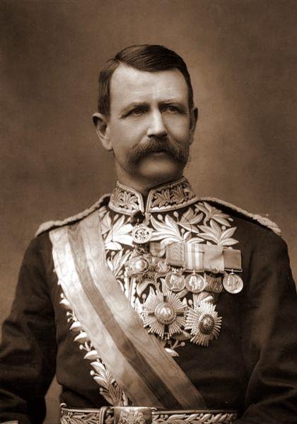 ציווה להסיר את הכתובת האנטישמית: מפקד משטרת לונדון סר צ'רלס וורן