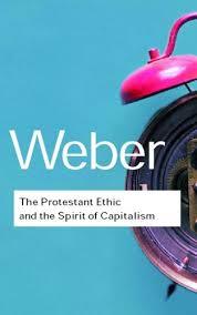 בספרו הקלאסי על מוסר העבודה והדת הפרוטסטנטית, העלה הסוציולוג הגרמני מקס וובר לראשונה את התיאוריה שמקדם כעת ניל פרגוסון בנוגע למוסר העבודה המערבי.