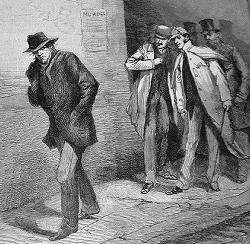 יחידת מתנדבים מחפשת את ג'ק המרטש, Illustrated London News, 13 באוקטובר 1888