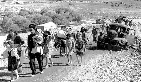 החשבונות הוחזרו בסופו של דבר - שיירת פליטים פלסטינים, 1948