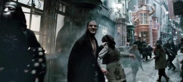 פרדיגמה של מלחמה בטרור - התקפת אוכלי מוות בעיבוד הקולנועי של הארי פוטר