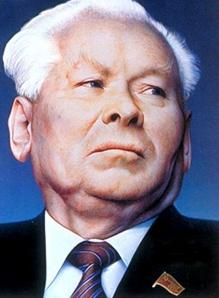 בית זקנים משתעל ושמרני - מנהיג ברית המועצות קונסטנטין צ'רניינקו