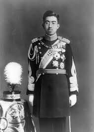 הקיסר הירוהיטו במדי שרד - לפני מלחמת העולם השנייה