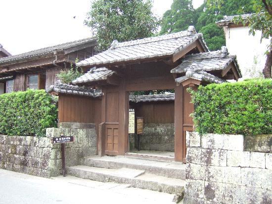 כניסה לבית סמוראי, צ'יראן