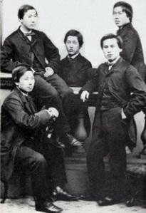 סטודנטים זרים יפנים בבריטניה, הפעם לא מסאצומה אלא מההאן היריב, צ'ושו