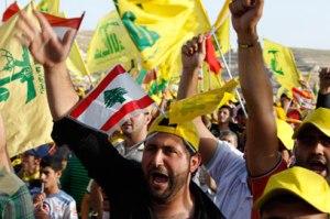 עדיין איתנו: עצרת של חיזבאללה בלבנון