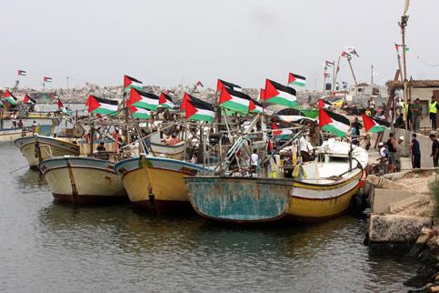 חופש תנועה בים ובאוויר תמורת פירוז: סירות דיג בנמל עזה