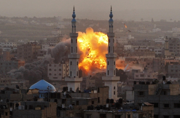 סיפור ידוע ומוכר: הפצצה במהלך מבצע עמוד ענן