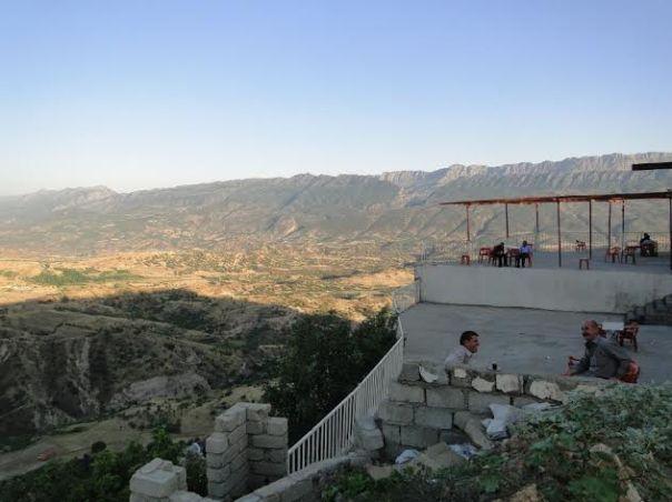 מקום יפה? נוף מהכפר אמדייה