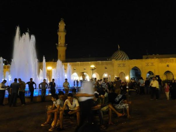 Erbil fountains