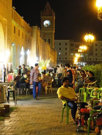כורדיסטאן בטוחה. לילה בארביל, בירת החבל.