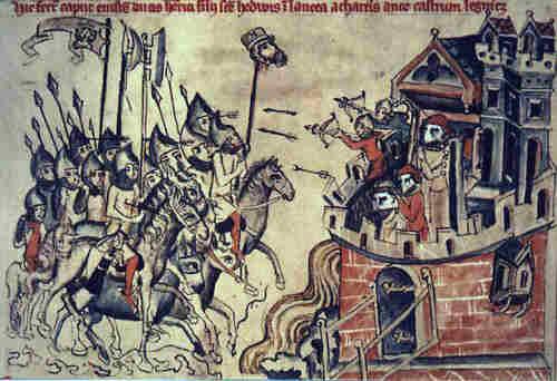אימה צרופה: ייצוג פרסי של לוחמים מונגולים