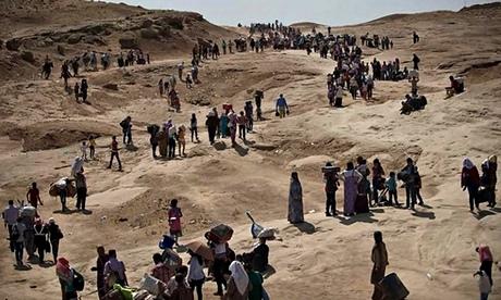 נעים במעגלים: פליטים יאזידים בהרי סינג'אר