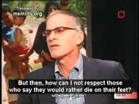 לא גן של שושנים - נורמן פינקלשטיין משבח את החיזבאללה בראיון טלוויזיוני