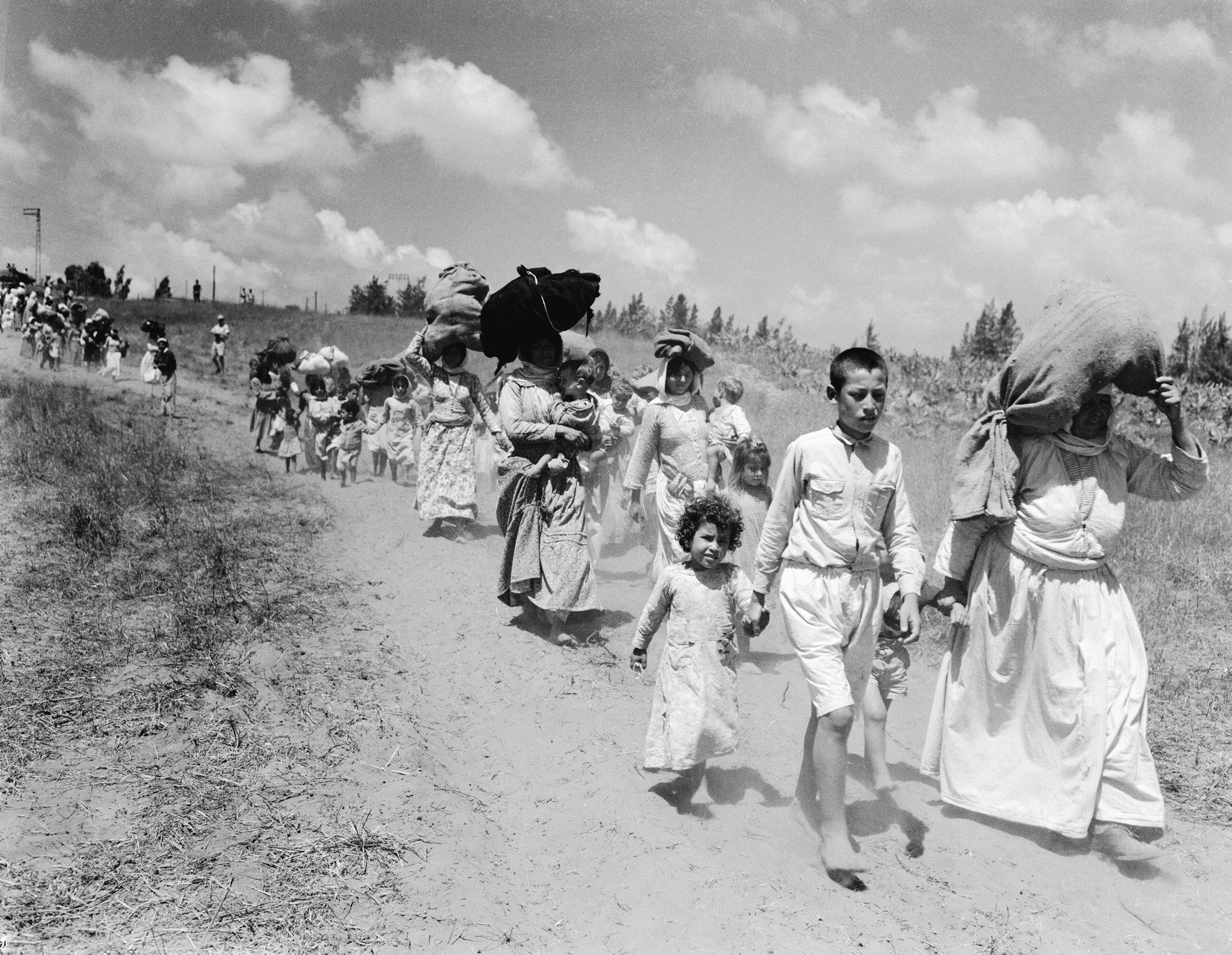 גירוש מכוון? שיירת פליטים פלסטינים ב-1948