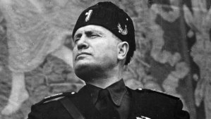 עלייתו מראה שגם מדינות מנצחות עלולות להפוך לפשיסטיות - בניטו מוסולוני