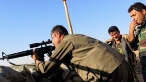 חיילי פשמרגה בקו החזית. מקור: npr.org