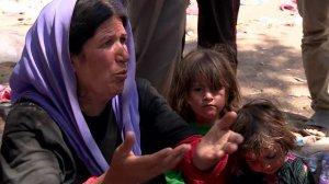 יחס מזוויע למיעוטים - פליטים יאזידים בעיראק
