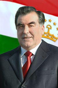 הביא סדר וביטחון - נשיא טג'יקיסטן אמאמולי רחמון