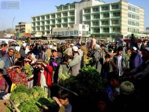 הסיכון מגולם במחיר - שוק ירקות בקאבול