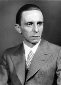 """שר התעמולה הנאצי ד""""ר יוזף גבלס - נציג מובהק של אנטישמיות מוחלטת"""