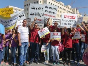 קורבן נוח וקל: הפגנה של הורים ותלמידים מבתי הספר הכנסייתיים