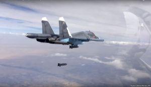 הפצצות רוסיות בסוריה. קרדיט: Voanews