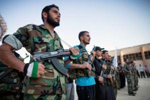 מותג, לא ארגון: חיילים באחת מקבוצות צבא סוריה החופשי