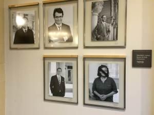 לא ברור מי ביצע, ומדוע: הסרטים השחורים על תמונות הפרופסורים, בית הספר למשפטים בהרווארד